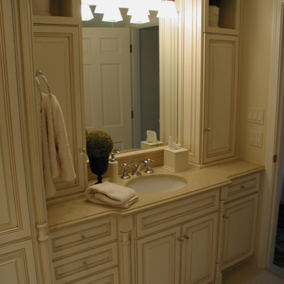 Glazed Master Bath Vanity