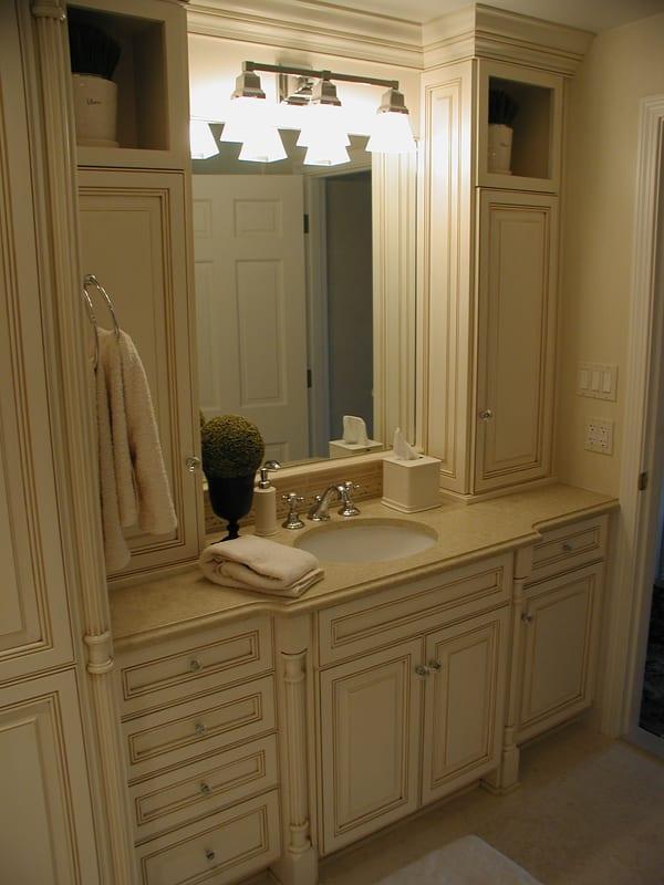Glazed Master Bath Vanity