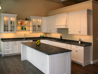 Frameless cabinets with the look of Inset Cabinets