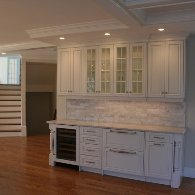 Wine Bar Kitchen Cabinetry