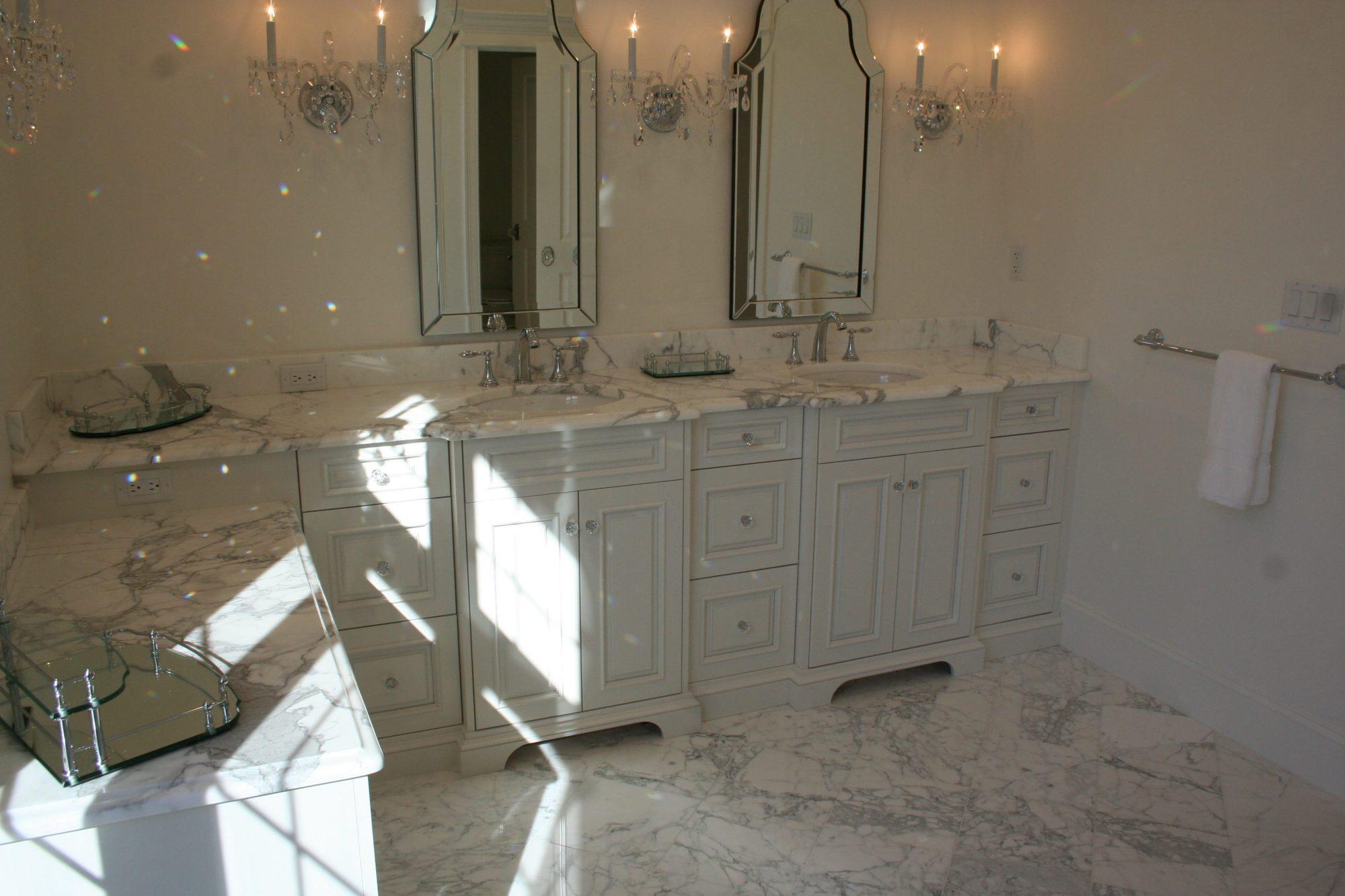 Luxury Master Bath Vanity
