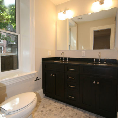 Double Sink Bath Vanity