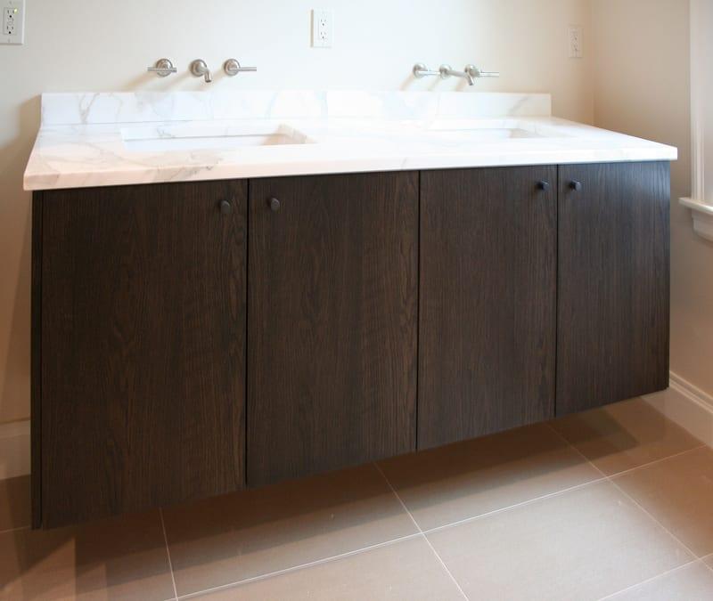 Contemporary bath vanity