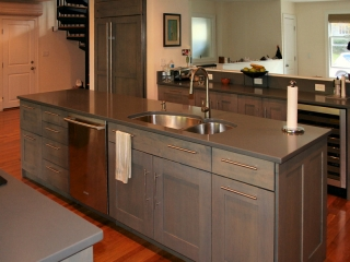 Tranisitional Kitchen Cabinets
