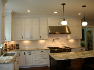 Stacked Kitchen Cabinets