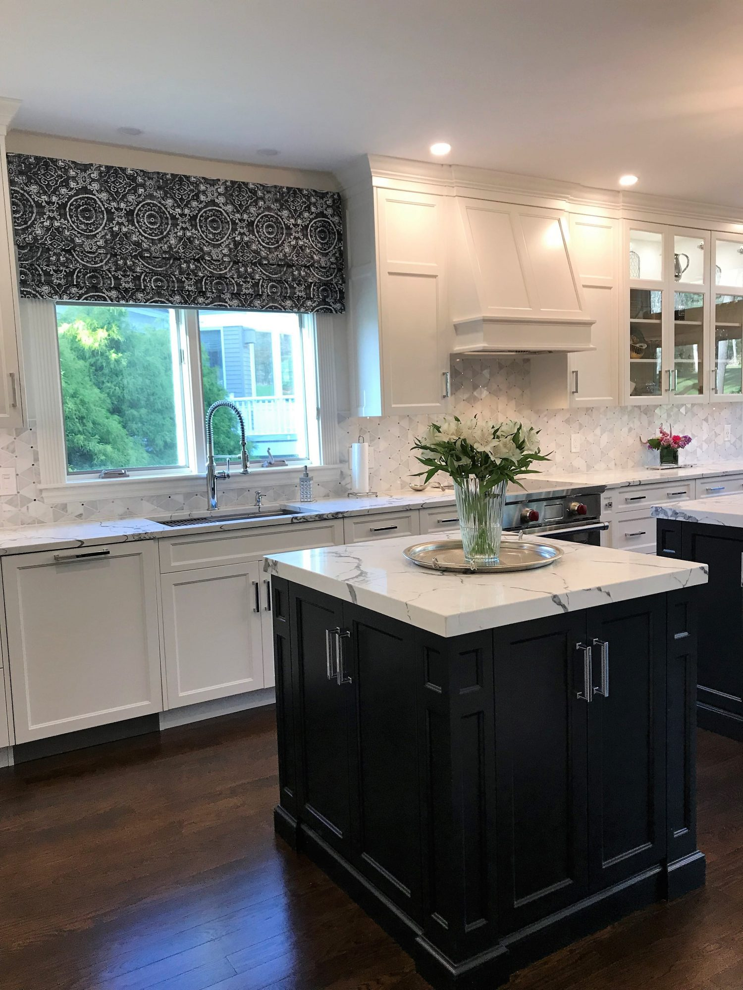 Tuxedo Kitchen Curtis Cabinetry