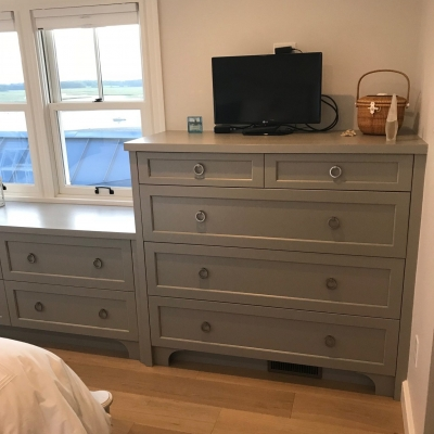 Custom built-in dresser